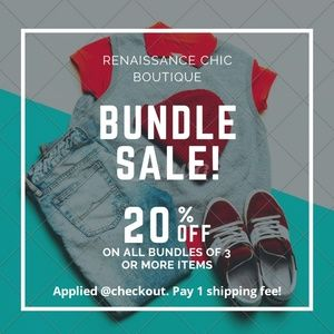 Bundles available! Automatic discount of 20%
